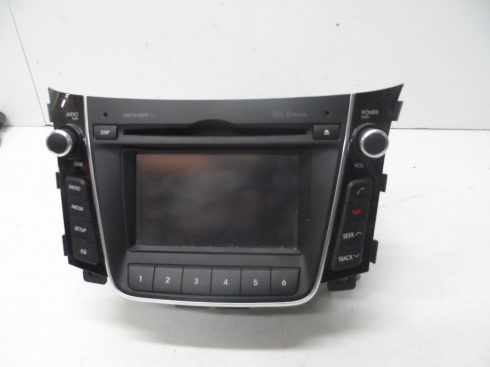 hyundai i30 radio cd player bluetooth type gd 05 12 12. Black Bedroom Furniture Sets. Home Design Ideas