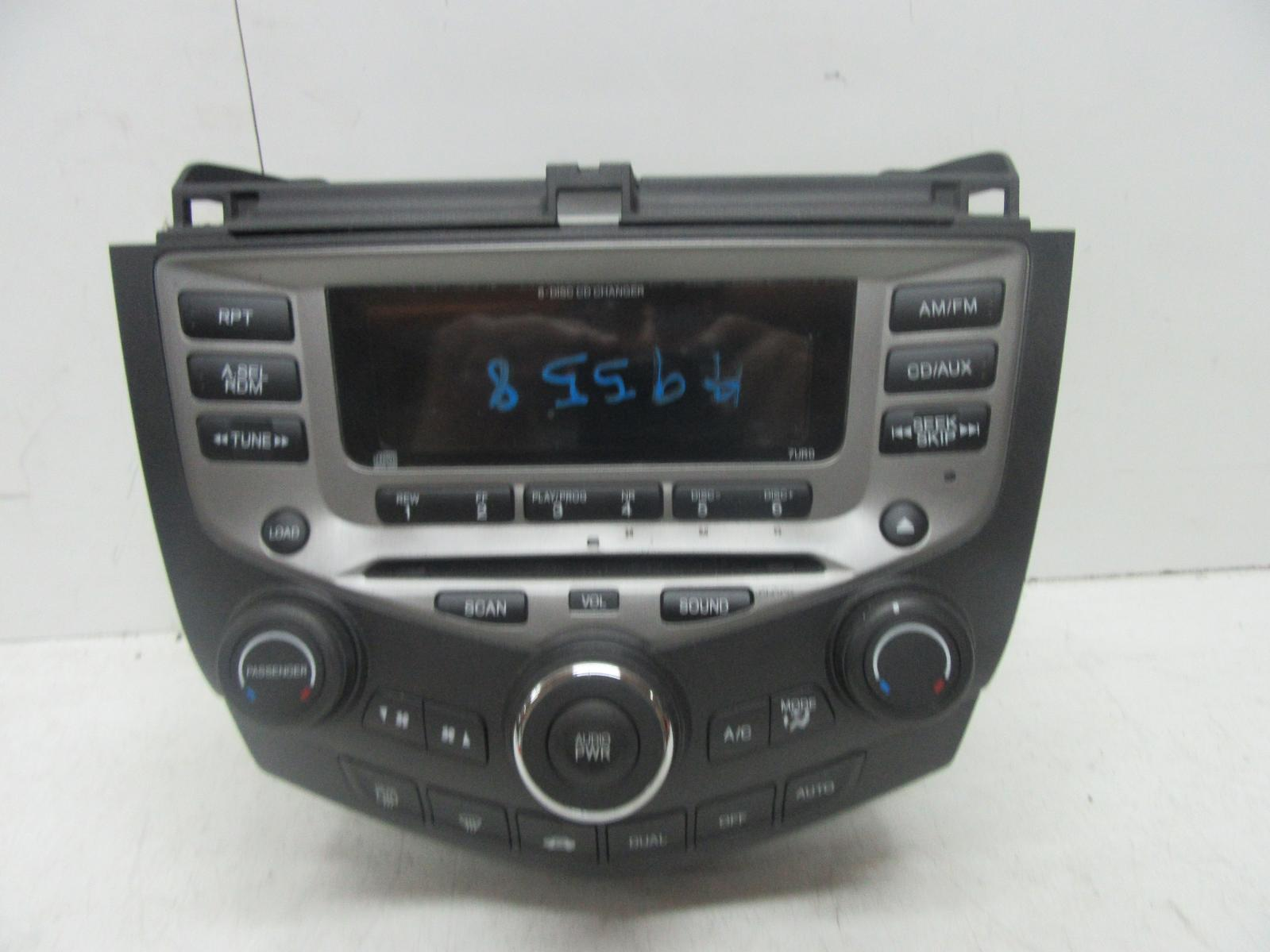 honda accord cm radio cd player premium sound 7th gen. Black Bedroom Furniture Sets. Home Design Ideas